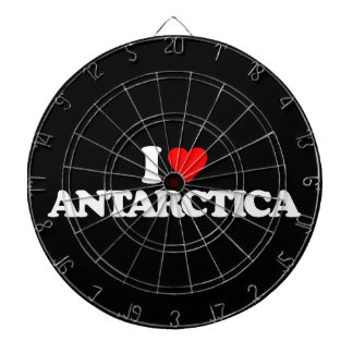 I LOVE ANTARCTICA DARTBOARD
