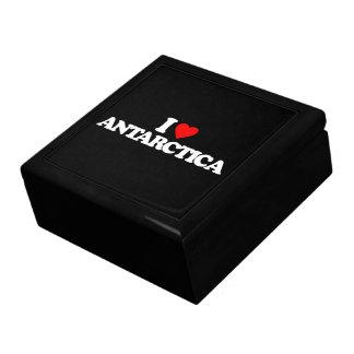 I LOVE ANTARCTICA TRINKET BOX