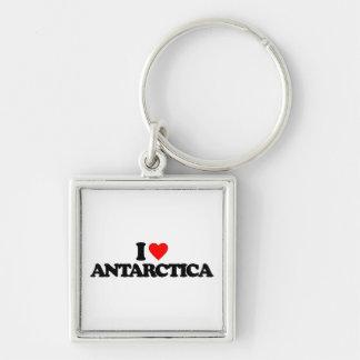 I LOVE ANTARCTICA KEY CHAIN