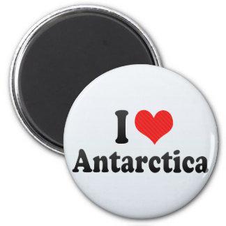 I Love Antarctica Refrigerator Magnet