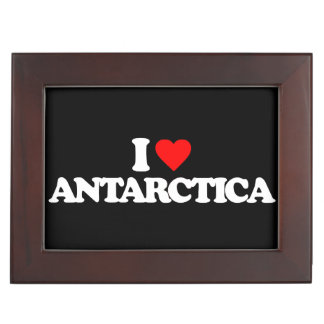 I LOVE ANTARCTICA MEMORY BOX