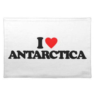 I LOVE ANTARCTICA PLACEMAT