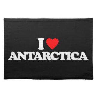 I LOVE ANTARCTICA PLACEMATS