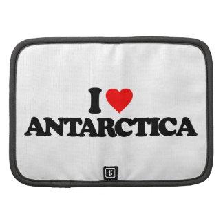 I LOVE ANTARCTICA FOLIO PLANNERS