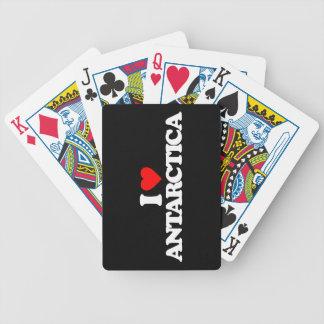 I LOVE ANTARCTICA BICYCLE POKER CARDS