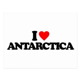 I LOVE ANTARCTICA POST CARD