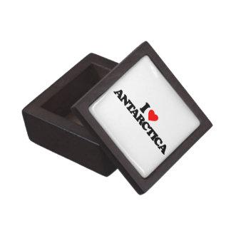 I LOVE ANTARCTICA PREMIUM TRINKET BOXES