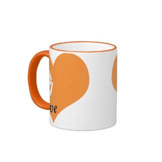I Love Antarctica Ringer Mug
