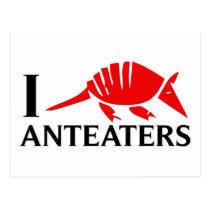 I Love Anteaters Postcard