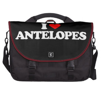 I LOVE ANTELOPES COMMUTER BAGS