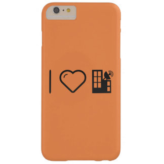I Love Antennas Barely There iPhone 6 Plus Case