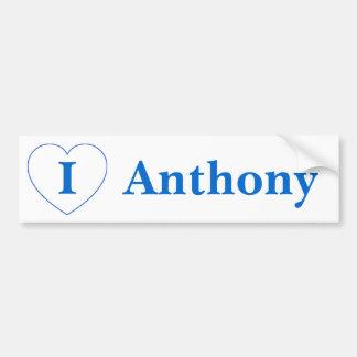 I Love Anthony (BpS) Bumper Sticker