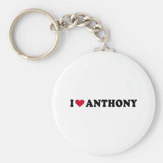 I LOVE ANTHONY KEYCHAIN
