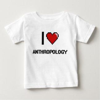 I Love Anthropology Digital Design Tshirts