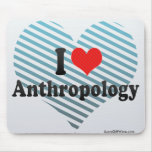 I Love Anthropology Mouse Pad