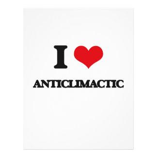 I Love Anticlimactic Flyer Design