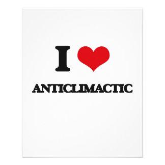 I Love Anticlimactic Flyer