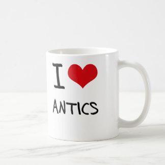 I Love Antics Mug