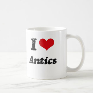 I Love Antics Mugs