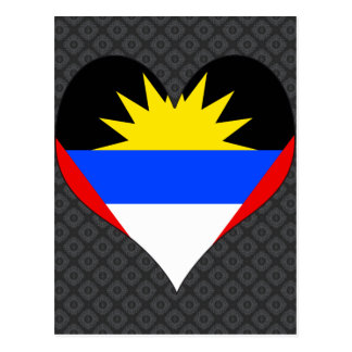 I Love Antigua And Barbuda Postcard