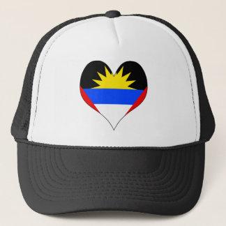 I Love Antigua And Barbuda Trucker Hat