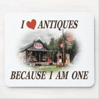 I love antiques mouse pad