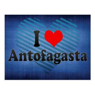 I Love Antofagasta, Chile Postcard