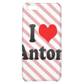 I love Anton iPhone 5C Cases