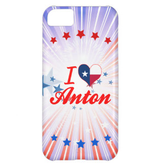 I Love Anton, Texas Case For iPhone 5C
