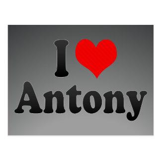 I love Antony Postcard