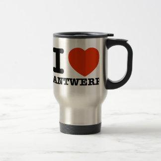 I Love Antwerp Mugs