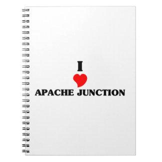 I love Apache Junction Spiral Notebooks
