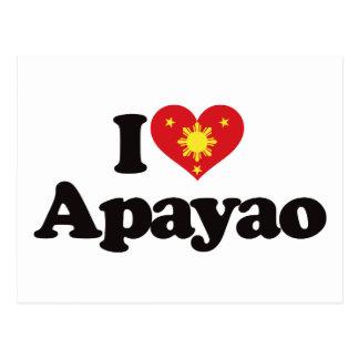 I Love Apayao Postcard