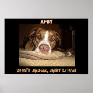 I Love APBT you should too! Poster