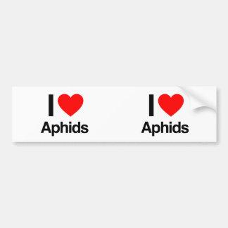 i love aphids bumper stickers