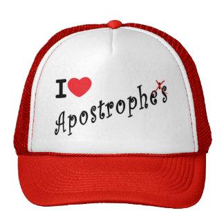 I love apostrophes trucker hat