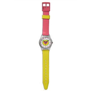 I Love Apple Design Wrist Watch