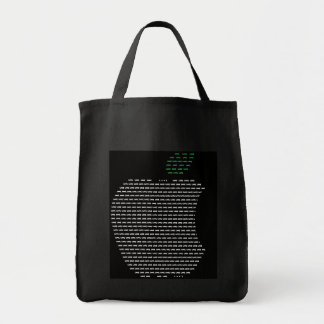 I Love Apple Grocery Tote