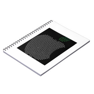 I Love Apple Photo Notebook (80 Pages B&W)