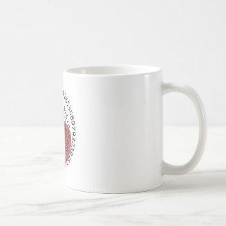 "I Love Apple ""Pi"" Pie Math Lovers! Coffee Mug"