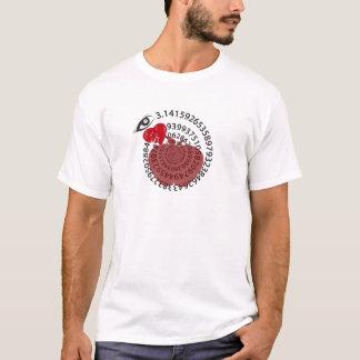 "I Love Apple ""Pi"" Pie Math Lovers! T-Shirt"