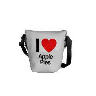 i love apple pies courier bags