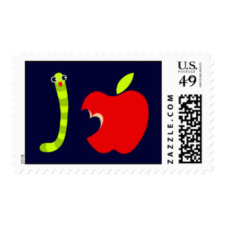I Love Apple Postage