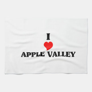 I love Apple Valley Ca Hand Towels