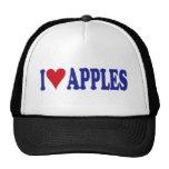 I Love Apples Hats