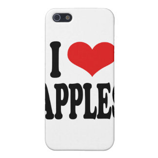 I Love Apples iPhone 5 Case