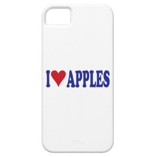 I Love Apples iPhone 5 Cases