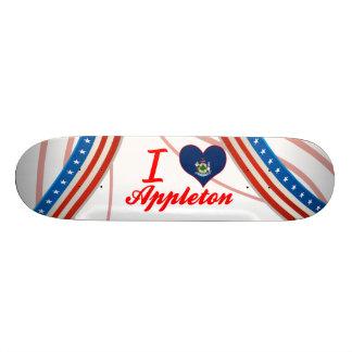 I Love Appleton, Maine Skate Decks