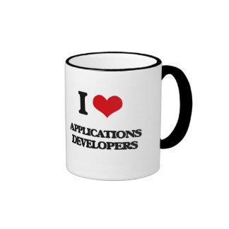 I love Applications Developers Mugs
