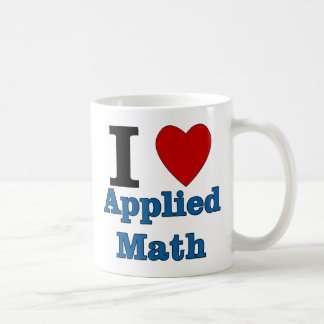 I Love Applied Math Coffee Mug